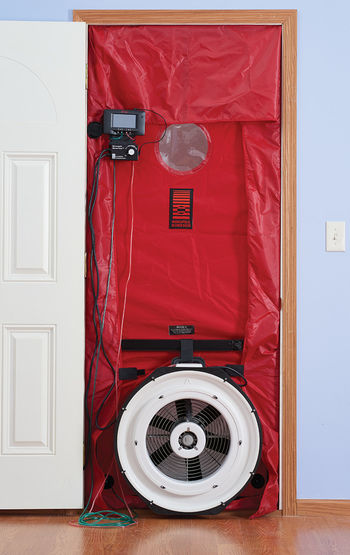 TEC Minneapolis Blower Door with DG-1000